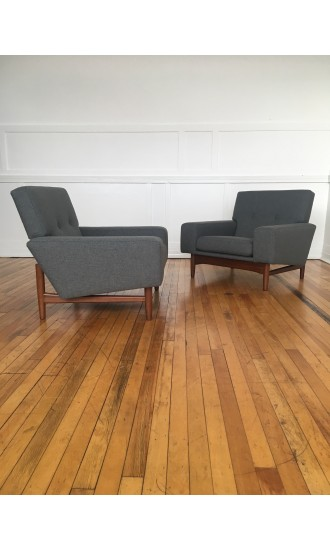 Pair of Ib Kofod-Larsen Armchairs