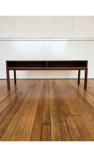 Midcentury Danish Rosewood Low Chest / Console Table / Sideboard Model 393 by Aksel Kjersgaard