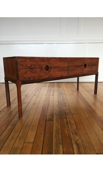 Danish Rosewood Low Chest / Cabinet / Commode Model 394 by Aksel Kjersgaard