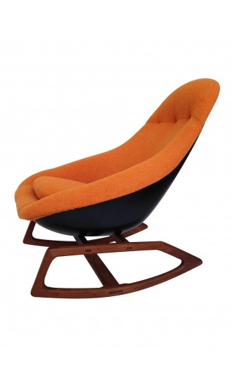 1960's Gemini Lurashell Rocking Chair Restored