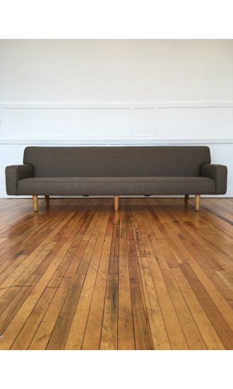 Mid Century Rare Danish Four Seater AP33S Sofa by Hans Wegner for AP Stolen in Svensson Wool