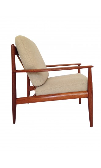 Danish Teak Armchair by Grete Jalk for France and Daverkosen (later France & Son)