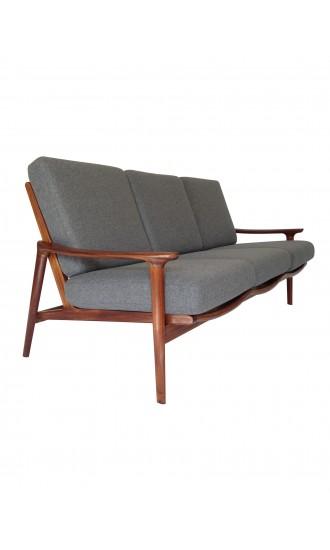 Danish Style 1960's Guy Rogers New Yorker Sofa