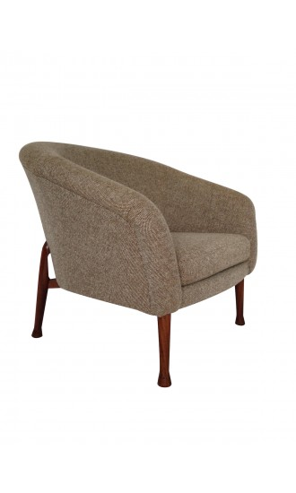 "1960's Danish Style ""Frisco Bay"" Tub Chair By Guy Rogers in Kvadrat Wool"