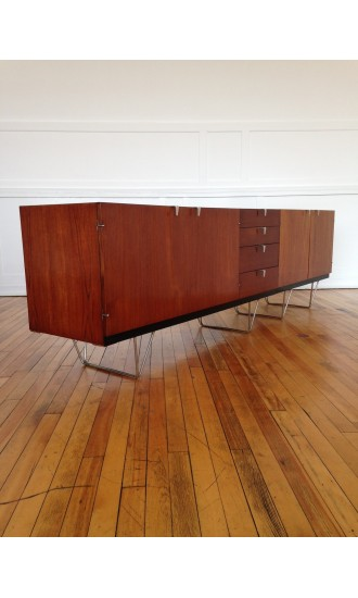 Iconic Pair of British Mid-Century S Range Sideboards designed by John and Sylvia Reid for Stag