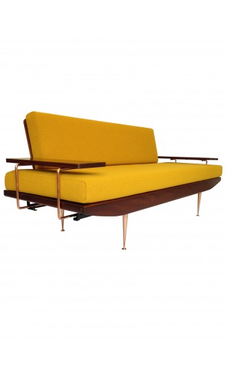 Extremely Rare Danish Style 1960's sofa bed by Toothill