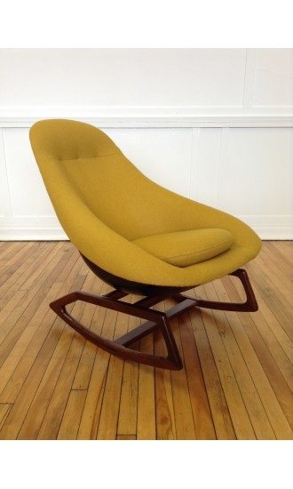 Gemini Rocking Chair by Walter S. Chenery for Lurashell