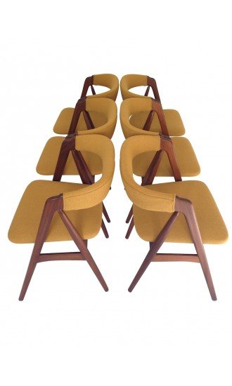 Danish Kai Kristiansen Teak Dining Chairs