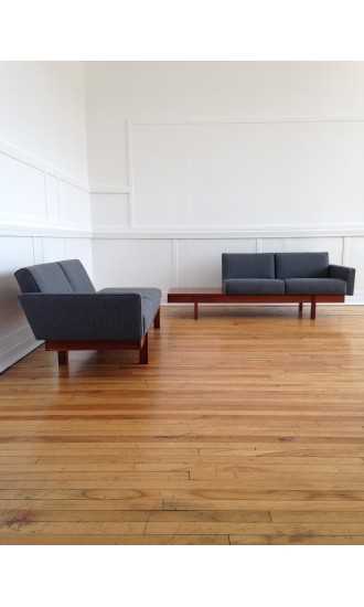 Midcentury Robin Day 'Plus' Group Sofa / Corner Sofa for Hille in Kvadrat wool