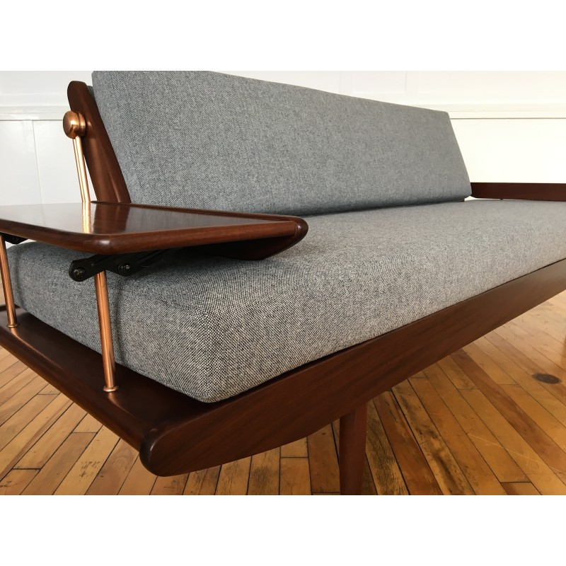 Attractive Midcentury British 1960u0027s Danish Style Sofa Bed By Toothill In Svensson Wool