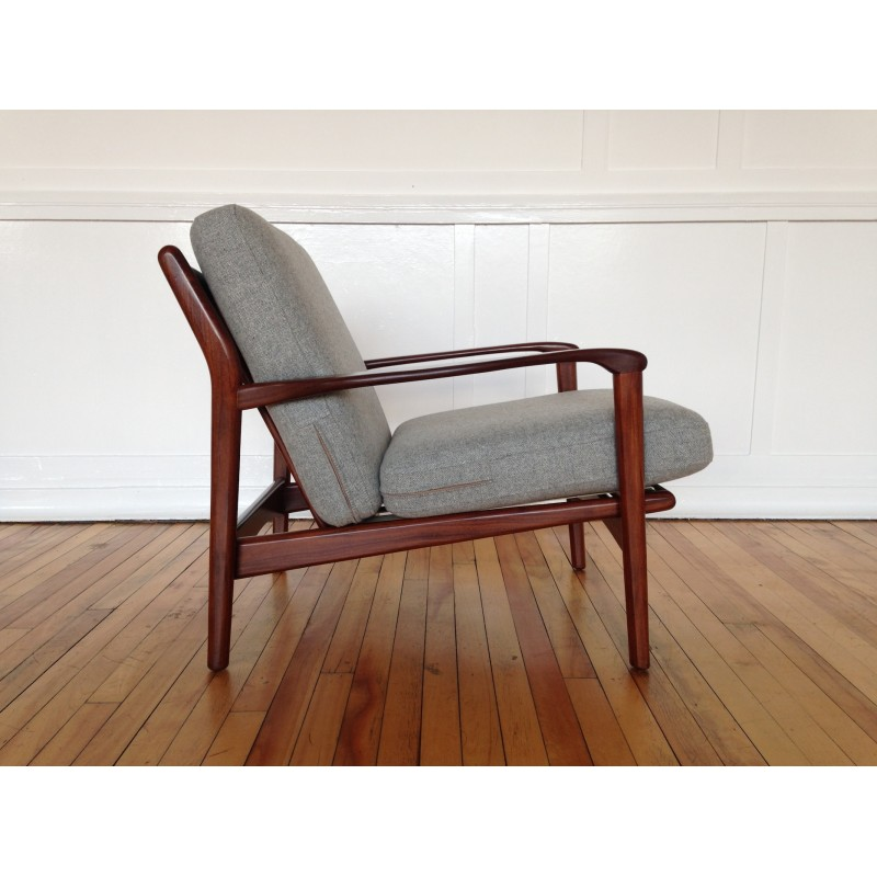 Danish Style 1960's Midcentury armchair by Toothill (2)