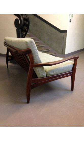 1960's British Teak Sofa by Toothill