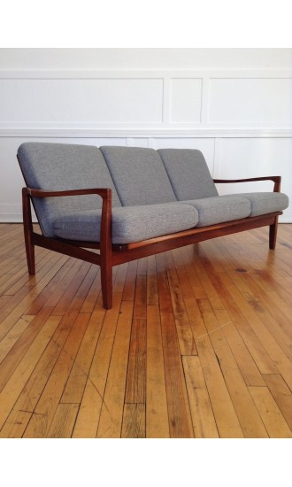 1960's Teak Sofa by Toothill