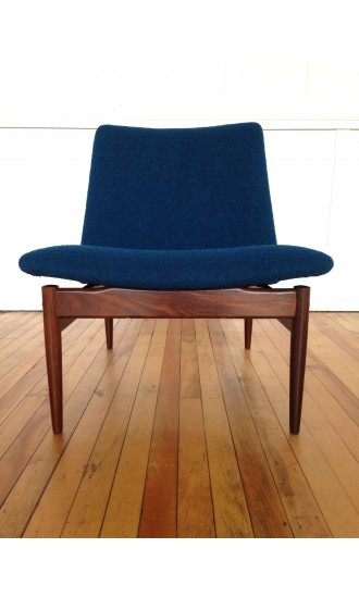 1960's Ib Kofod Larsen Teak Easy Chair Lounge Chair for G Plan Danish range (2)