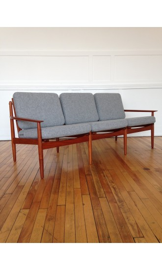 Mid-Century Danish Sofa by Arne Vodder for Glostrup